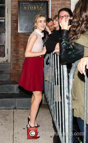 Kiernan Shipka - 40th Toronto International Film Festival - Celebrity Sightings at STORYS - Toronto, Canada - Saturday 12th September...