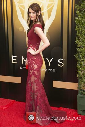 Lydia Hearst - 2015 Creative Arts Emmy Awards at Microsoft Theater - Arrivals at Microsoft Theater, Emmy Awards - Los...