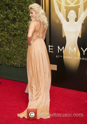 Witney Carson - 2015 Creative Arts Emmy Awards at Microsoft Theater - Arrivals at Microsoft Theater, Emmy Awards - Los...