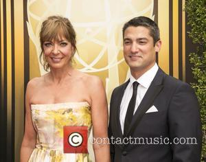 Allison Janney , Guest - 2015 Creative Arts Emmy Awards at Microsoft Theater - Arrivals at Microsoft Theater, Emmy Awards...