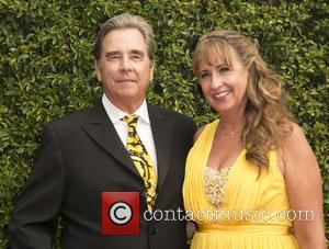 Beau Bridges , Wendy Treece Bridges - 2015 Creative Arts Emmy Awards at Microsoft Theater - Arrivals at Microsoft Theater,...