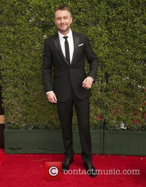 Chris Hardwick - 2015 Creative Arts Emmy Awards at Microsoft Theater - Arrivals at Microsoft Theater, Emmy Awards - Los...