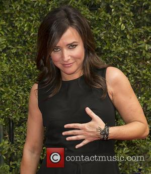 Pamela Adlon - 2015 Creative Arts Emmy Awards at Microsoft Theater - Arrivals at Microsoft Theater, Emmy Awards - Los...