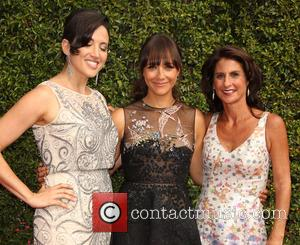Rashida Jones , Guests - 2015 Creative Arts Emmy Awards at Microsoft Theater - Arrivals at Microsoft Theater, Emmy Awards...