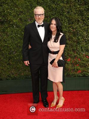 Adam Savage and Julia Ward