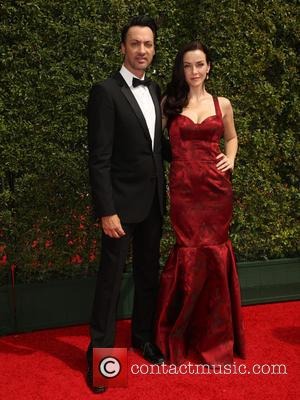 Annie Wersching , guest - 2015 Creative Arts Emmy Awards at Microsoft Theater - Arrivals at Microsoft Theater, Emmy Awards...