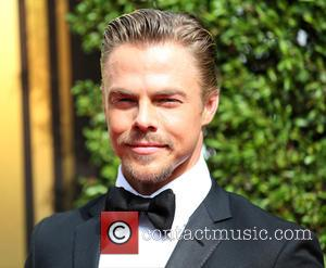 Derek Hough - 2015 Creative Arts Emmy Awards at Microsoft Theater - Arrivals at Microsoft Theater, Emmy Awards - Los...