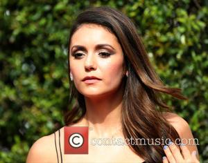 Nina Dobrev - 2015 Creative Arts Emmy Awards at Microsoft Theater - Arrivals at Microsoft Theater, Emmy Awards - Los...
