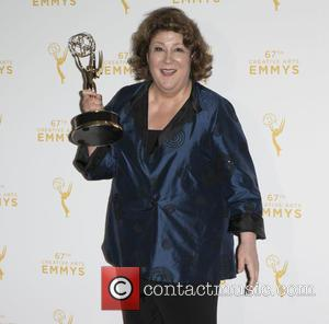 Margo Martindale - 2015 Creative Arts Emmy Awards at Microsoft Theater- Press Room at Microsoft Theater, Emmy Awards - Los...