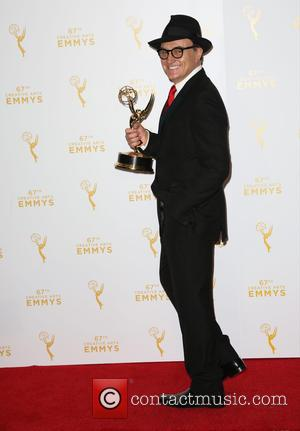 Bradley Whitford - 2015 Creative Arts Emmy Awards at Microsoft Theater- Press Room at Microsoft Theater, Emmy Awards - Los...