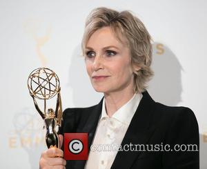 Jane Lynch - 2015 Creative Arts Emmy Awards at Microsoft Theater- Press Room at Microsoft Theater, Emmy Awards - Los...