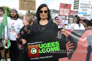 Bianca Jagger - Bianca Jagger joins a national day of action called by various political campaign groups to show solidarity...