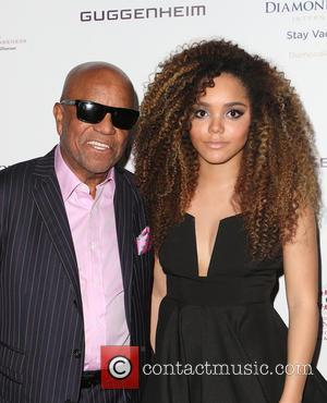 Berry Gordy and Mahogany Cheyenne Gordy