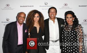 Berry Gordy, Mahogany Cheyenne Gordy, Smokey Robinson , Frances Glandney - The Brent Shapiro Foundation's 10th Annual Summer Spectacular held...
