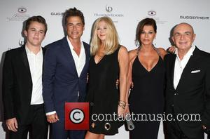 Rob Lowe, Sheryl Berkoff, Matthew Edward Lowe, Linell Shapiro and Robert Shapiro