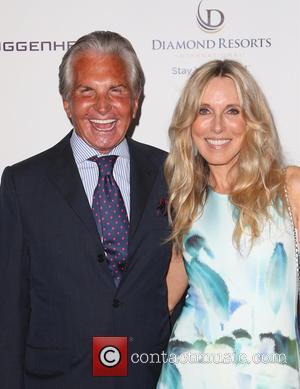George Hamilton and Alana Stewart