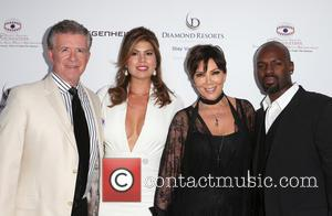 Alan Thicke, Tanya Callau, Kris Jenner and Corey Gamble