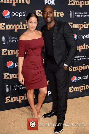 Jaina Lee Ortiz and Morris Chestnut