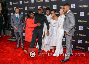Trai Byers, Gabourey Sidibe, Lee Daniels, Ta'rhonda Jones, Grace Gealey, Kaitlin Doubleday and Terrence Howard