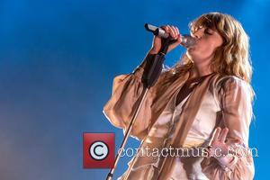 Florence Welch - Florence and the Machine performing the opening night of her UK Tour at Sheffield Arena at Sheffield...