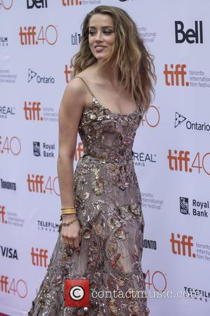 Amber Heard - 40th Toronto International Film Festival - 'The Danish Girl' - Premiere - Toronto, Canada - Saturday 12th...