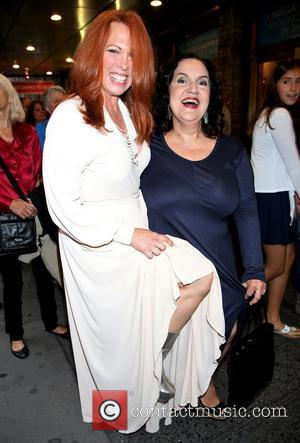 Carolee Carmello and Olga Merediz