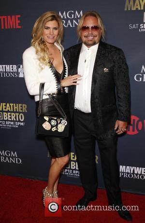 Rain Hannah and Vince Neil