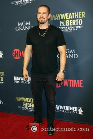 Steve Howey - Floyd Mayweather vs Andre Berto Pre Fight Party held at MGM Grand Studio 1 at MGM Grand...