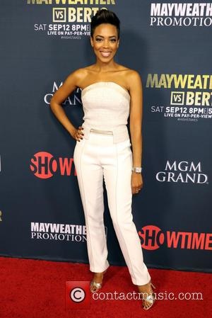 Jazmyn Simon - Floyd Mayweather vs Andre Berto Pre Fight Party held at MGM Grand Studio 1 at MGM Grand...