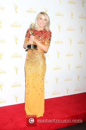 Julianne Hough - 2015 Creative Arts Emmy Awards at Microsoft Theater- Press Room at Microsoft Theater at LA Live, Emmy...