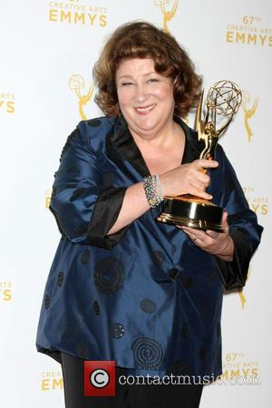 Margo Martindale - 2015 Creative Arts Emmy Awards at Microsoft Theater- Press Room at Microsoft Theater at LA Live, Emmy...