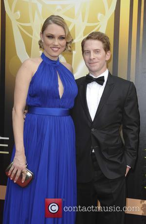 Seth Green , Clare Grant - 2015 Creative Arts Emmy Awards at Microsoft Theater - Arrivals at Emmy Awards -...