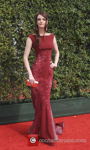 Lydia Hearst - 2015 Creative Arts Emmy Awards at Microsoft Theater - Arrivals at Emmy Awards - Los Angeles, California,...