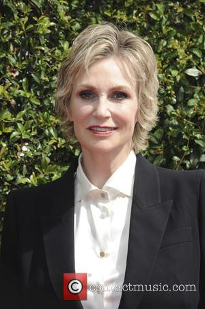 Jane Lynch - 2015 Creative Arts Emmy Awards at Microsoft Theater - Arrivals at Emmy Awards - Los Angeles, California,...