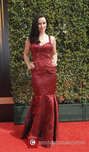 Annie Wersching - 2015 Creative Arts Emmy Awards at Microsoft Theater - Arrivals at Emmy Awards - Los Angeles, California,...