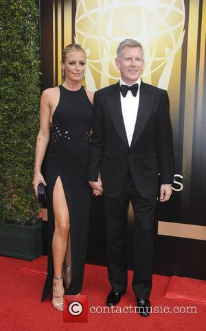 Cat Deeley , Patrick Kielty - 2015 Creative Arts Emmy Awards at Microsoft Theater - Arrivals at Emmy Awards -...