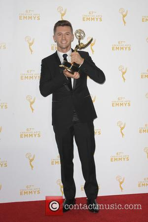 Travis Wall - 2015 Creative Arts Emmy Awards at Microsoft Theater- Press Room at Emmy Awards - Los Angeles, California,...
