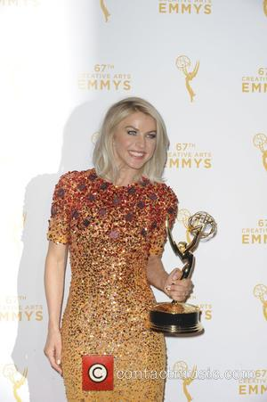 Julianne Hough - 2015 Creative Arts Emmy Awards at Microsoft Theater- Press Room at Emmy Awards - Los Angeles, California,...