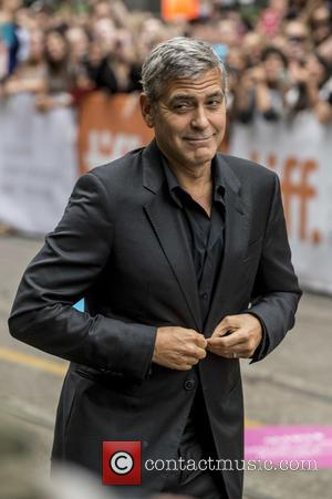 George Clooney - 40th Toronto International Film Festival - 'Our Brand Is Crisis' - Premiere - Toronto, Canada - Saturday...