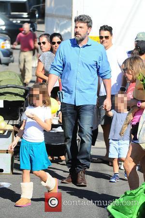 Ben Affleck, Samuel Garner Affleck , Seraphina Affleck - Ben Affleck and Jennifer Garner take their three children to the...
