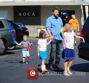 Ben Affleck, Samuel Garner Affleck, Seraphina Affleck , Violet Affleck - Ben Affleck and Jennifer Garner take their three children...