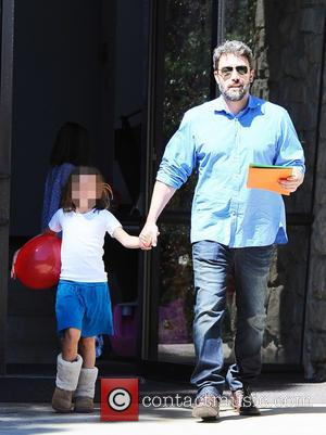Ben Affleck , Seraphina Affleck - Ben Affleck and Jennifer Garner take their three children to the Farmer's Market in...