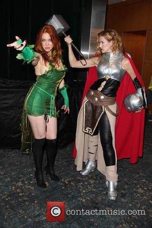 Maitland Ward , Bennett Cousins - Long Beach Comic Con held at Long Beach Convention Center - Day 2 at...