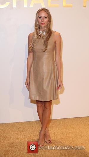 Harley Viera-Newton - Estee Lauder launch the Michael Kors Gold Collection Fragrance held at The Top of The Standard -...