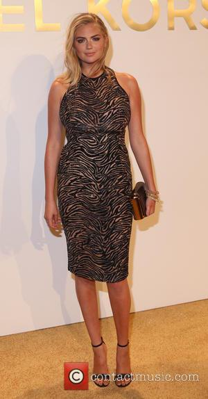 Kate Upton - Estee Lauder launch the Michael Kors Gold Collection Fragrance held at The Top of The Standard -...