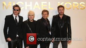 Duran Duran - Estee Lauder launch the Michael Kors Gold Collection Fragrance held at The Top of The Standard -...