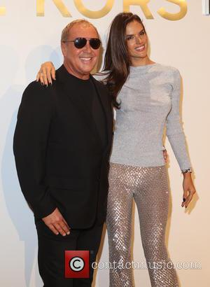 Michael Kors , Alessandra Ambrosio - Estee Lauder launch the Michael Kors Gold Collection Fragrance held at The Top of...