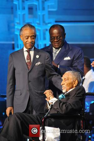 Joseph Lowery, Al Sharpton and W. Franklyn Richardson