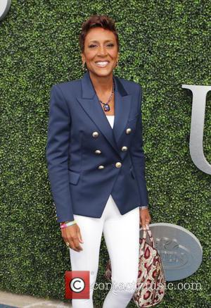 Robin Roberts - 2015 US Open Tennis - Women's Final against Flavia Pennetta and Roberta Vinci at the USTA Billie...