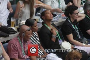 Queen Latifah - 2015 US Open Tennis - Women's Final against Flavia Pennetta and Roberta Vinci at the USTA Billie...